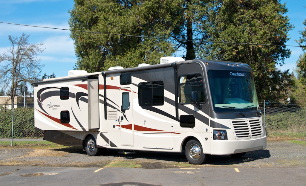 Motorhome rental in Oregon