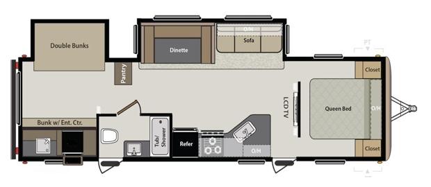 oregon travel trailer for rent unit 18