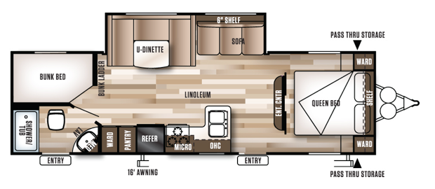 oregon travel trailer for rent unit 20