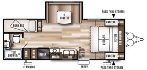 oregon travel trailer for rent unit 22