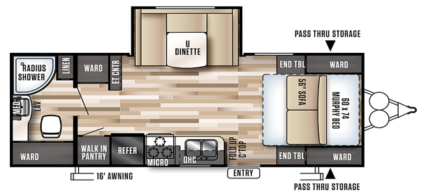 oregon travel trailer for rent unit 23