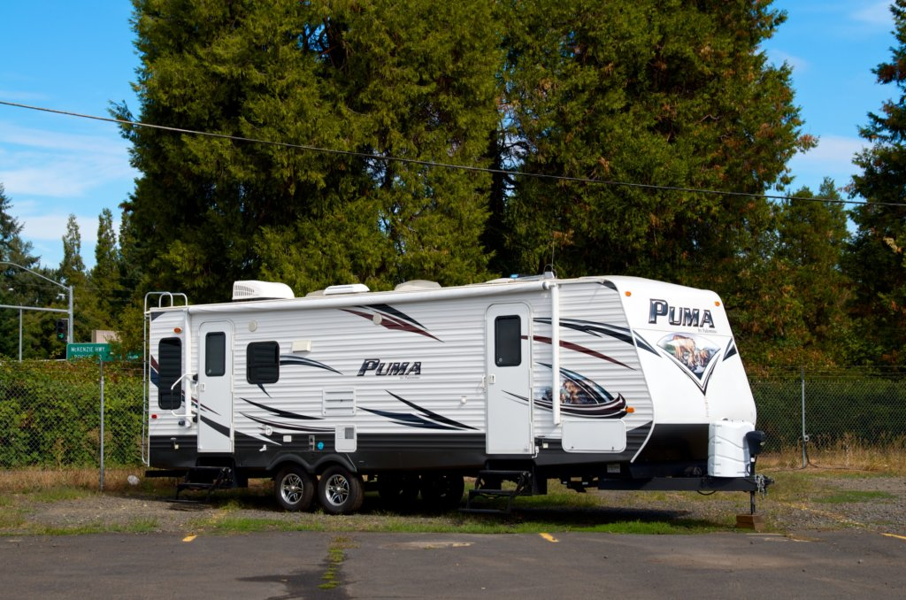 Travel Trailer Rental Unit 21