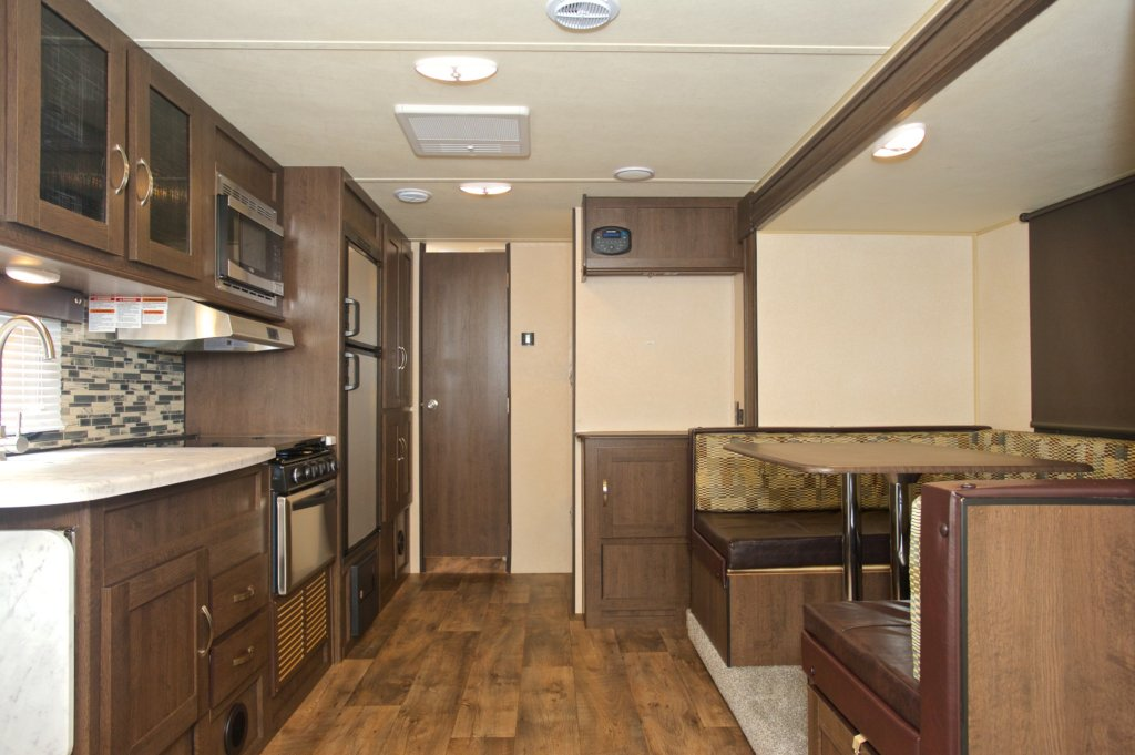 Travel Trailer Interior - Turn Key RV