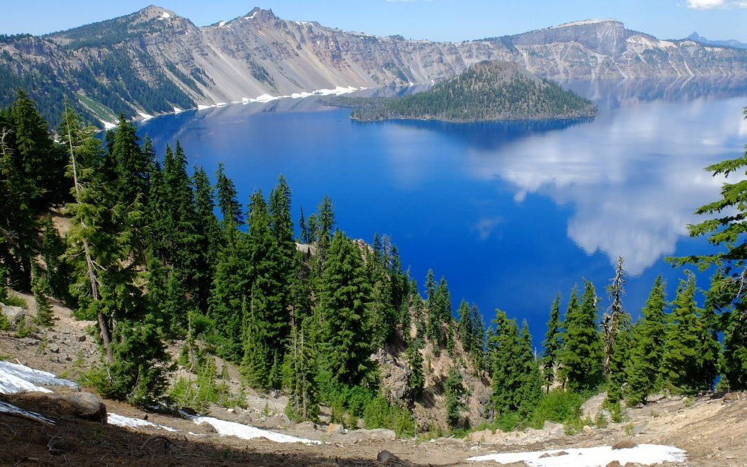 Camping in Crater Lake