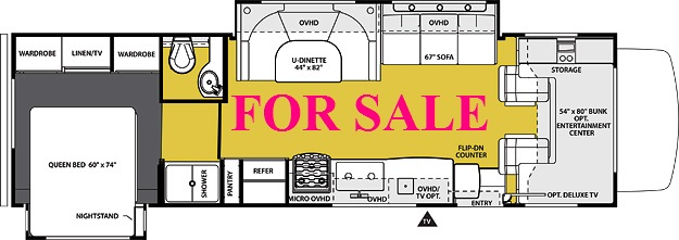 motorhome for sale in oregon unit 13