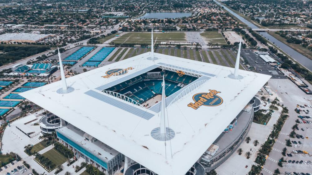 Hard Rock Stadium in Miami, Florida
